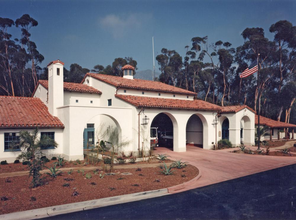 Montecito Fire Station exterior