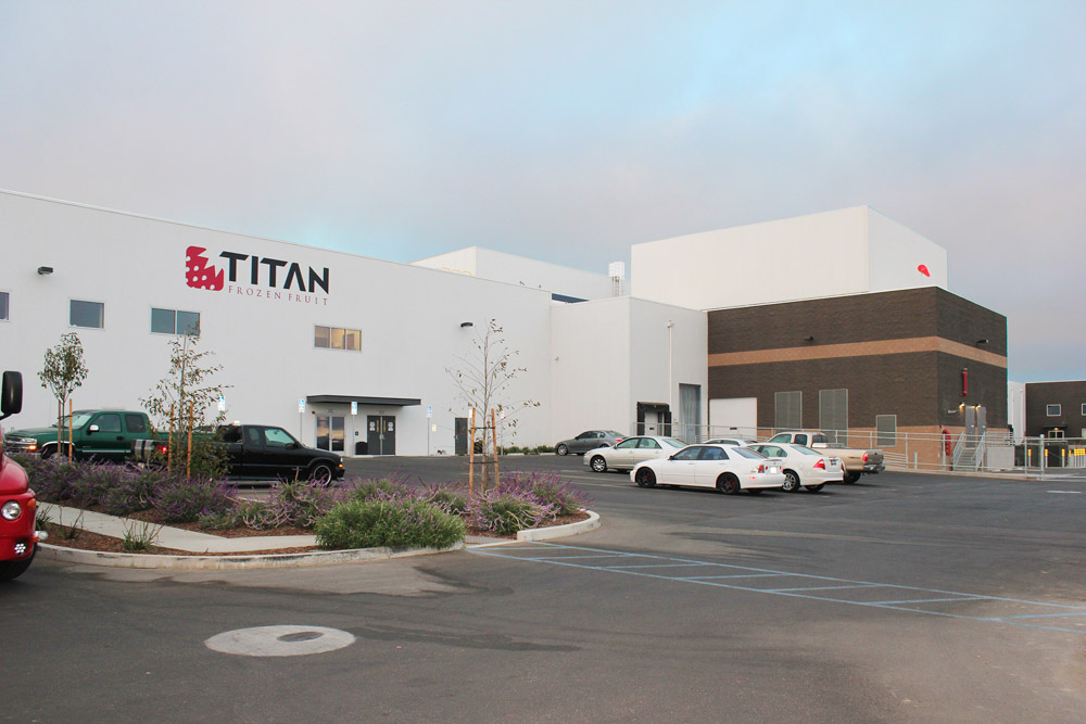 Titan Frozen Foods exterior