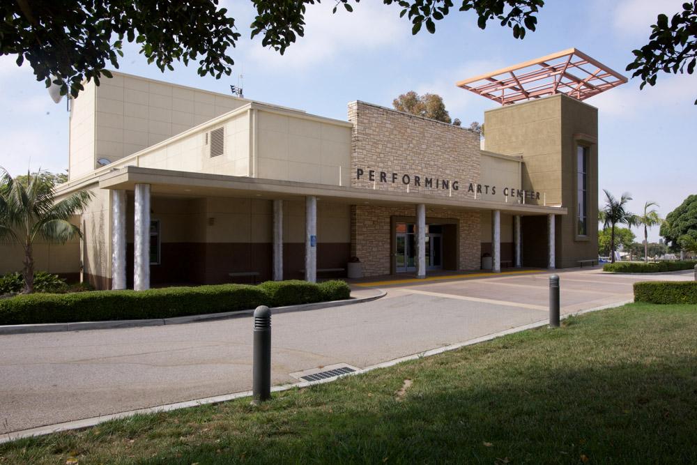 Ventura College's Performing Arts Center exterior